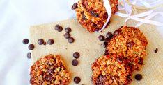 Galletas de quinoa , avena y chocolate (sin huevo)