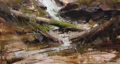 The Metamorphosis by Tibor Nagy Oil ~ 11.8 x 21.6