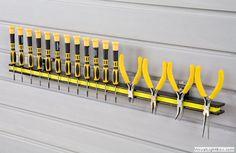 Slatwall Magnetic Tool Holder