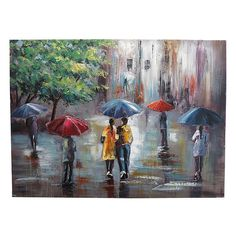 Rain Art, Thomas Kinkade, Watercolour Painting, Art Oil, Landscape Paintings, Metal, Gym, Drawings, Art