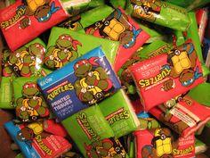 Awesome/Rare Vintage Teenage Mutant Ninja Turtles TMNT Printed Tissues - $4.99 FarpointToys via etsy