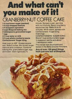 Gluten Free Bisquick Coffee Cake Recipe