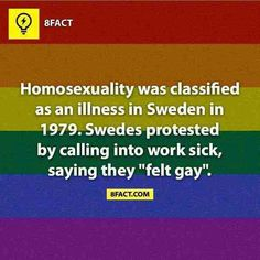 Sweden and Finland always seem so awesome and this isn't helping dammit