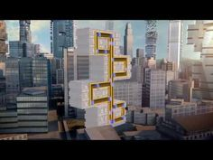 While it may not go slantways or longways or backways, this elevator concept uses magnetic levitation to move up, down and sideways and bring passengers where they want to go.