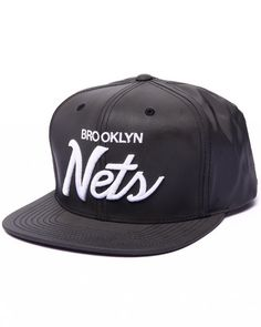 fca06ac1b21 ... Grizzlies XL Logo 2T Snapback by Mitchell. See More. from Karmaloop ·  Love this Brooklyn Nets Reflective 3M Edition Custom Snap... on DrJays and  only