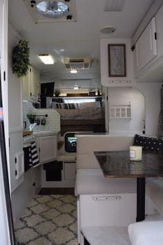 Truck Bed Camper, Diy Camper, Rv Truck, Camper Life, Camper Ideas, Rv Life, Camper Renovation, Camper Remodeling, Camper Bathroom