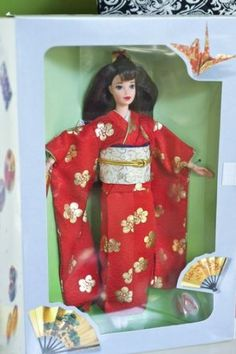 Barbie Japanese Happy New Year Osbogatsu 1995: Toys & Games