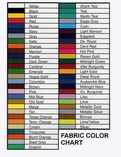 Rit Dye Color Chart Crafting Rit Dye Colors Chart
