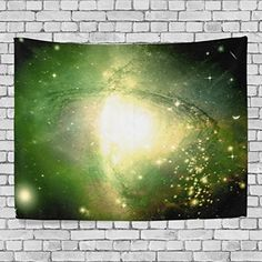WellLee Wall Tapestry,Universe Galaxy Space Meteor Nebula Star,Home Decor Tapestry Wall Hanging for Dorm Throw Living Room,80x60 Inch