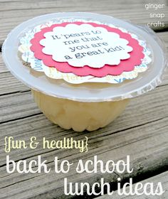 Cute and clever back to school snack ideas!