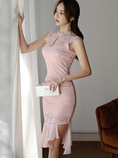 Wholesale Stylish Stand Collar Fitted Sleeveless Dress NHA042037PN | Wholesale7.net Wholesale Fashion, Wholesale Clothing, Club Dresses, Formal Dresses, New Trends, Designing Women, Dresses Online, Stylish, Shopping