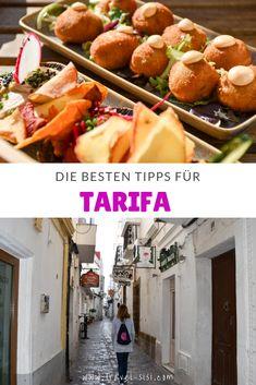 Die besten Reisetipps, Sehenswürdigkeiten und Restaurants in Tarifa, der coolen Stadt in Andalusien. Reisen In Europa, The Good Place, Restaurants, Explore, Fruit, Vegetables, Wanderlust, Happiness, Travel