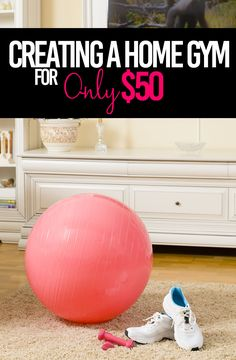 Creating a Home Gym For ONLY $50 - Fitness Fashionista Diy Home Gym, Best Home Gym, Home Gym Equipment, Workout Equipment, Fitness Equipment, Marathon Tips, Gym Tips, Outdoor Gym, Heath And Fitness