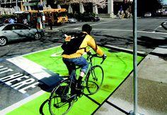 Portland bicycle street signs