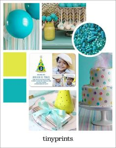 We are loving this lovely teal birthday party inspiration for celebrating your little one's special day! Creative cake pops, bold balloons, and polka dots are bound to put a smile on any toddler's face. Fun Party Games, Party Themes, Birthday Party Invitations, Birthday Parties, Happy Birthday, Creative Party Ideas, Custom Canvas Prints, Tiny Prints, Colorful Party