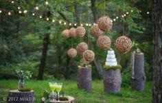Intrigue Designs   @grace_ormonde @wedding_style   Rustic woodland designs