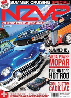 NZV8 Magazine December 2012 - Awesome Cadillac!