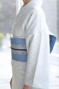お洒落なファッション、リアルクローズの着物ブランド awai|週末のお洒落着物/コーディネート | さらりと小紋