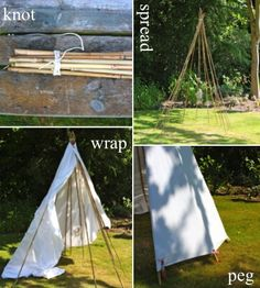 An Indian Summer: The 10 Minute Tipi Kids Gardening Set, Kids Teepee Tent, Play Tents, Tent Fabric, Waterproof Tent, Women Camping, Indian Summer, Outdoor Landscaping, Teepees
