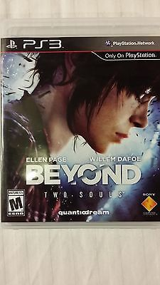 BEYOND: Two Souls PS3 Game Excellent Condition - Disc and Case