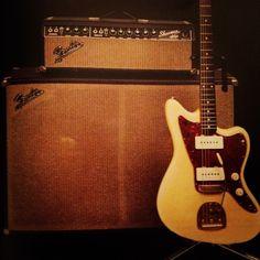 Fender Jazzmaster & Showman.