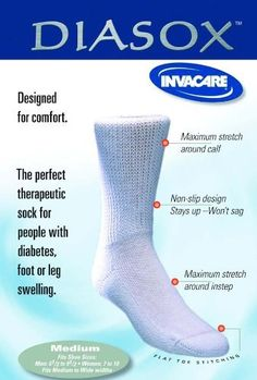 Special 1 Pack of 3 - Invacare Diasox Diabetic Socks ISGDIWXL Invacare diabetes *** This is an Amazon Associate's Pin. Details on product can be viewed on the website by clicking the VISIT button.
