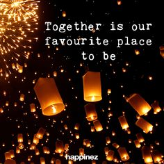 Together is our favourite place to be #Happinez #together #love