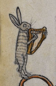 @BLMedieval I love the pictures of musical hares.  I had no idea they were so talented.