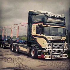 Scania R 6x4 Timber Truck