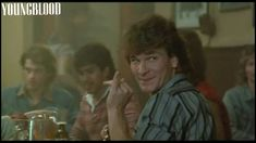 Patrick Swayze in Youngblood Patrick Swayze Movies, Patrick Wayne, Young Blood, 80s Movies, Dirty Dancing, Classic Movies, The Outsiders, Films, Hollywood