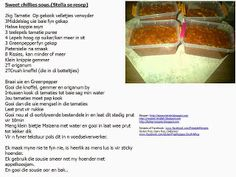 Lekker Resepte : Laaste resepte vir 2014 - Recipes made into pictures Christian Crafts, South African Recipes, 3 Ingredients, Sauce Recipes, Food To Make, Side Dishes, Homemade, Sauces, Baking