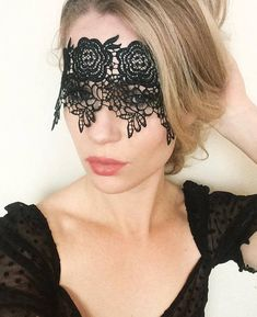 Black Lace Mask Reversible to Gold Masquerade Sexy Mask Lace Mask, Masquerade Party, Gold Lace, Black Gold, Headbands, Halloween Face Makeup, Pure Products, Trending Outfits, Veils