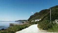Beautiful limestone road. Rathlin Island #my own #S.Campbell