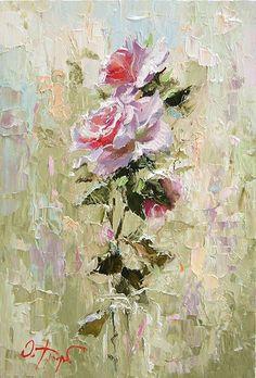 Oleg Trofimov - pink roses (9):