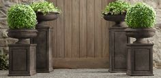 pedestal in corner? Garden Décor | Restoration Hardware