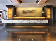 Image result for hotel reception desk