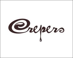 Pastry logo design: Crepes