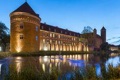 Old gothic castle in Lidzbark Warminski, Poland, Europe