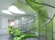 Liquid Walls Dental Practice: coolest dental office ever