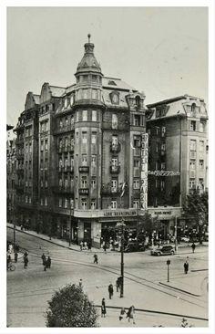 1940. Baross tér, Park szálló.