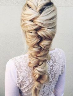 Wonderful braided hair for my wedding - LadyStyle