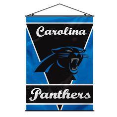 Carolina Panthers Banner 28x40 Premium