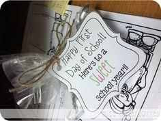 Miss Kindergarten: First day gift