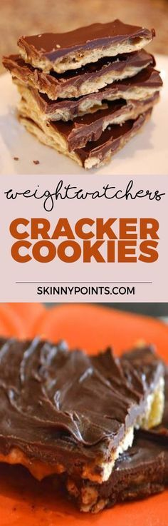 Cracker Cookies With Only 2 Weight watchers Smart Points