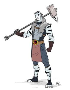 """Meet Dobo, He's the Pit Master and legend among the Jackals. You'll see him in the newest episode of ThunderCats """"The Pit"""". Thundercats Characters, Thundercats 2011, Cat Character, Character Design, Furry Pics, Nostalgia, New Gods, 90s Cartoons, Fantasy Warrior"""