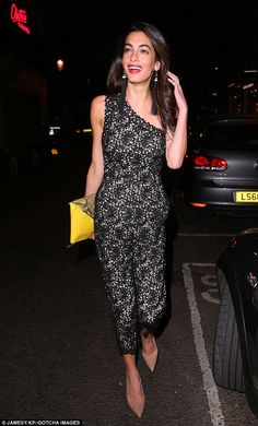 81f47bb6cd9 Amal Clooney has a great stylist or just classic elegant taste. LOVE THE  SHOES!