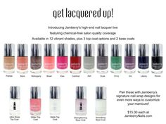 Jamberry Nail Lacquer www.salonfanatic.com