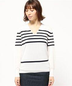 LEP US Vネックプルオーバー(ニット/セーター)|IENA(イエナ)のファッション通販 - ZOZOTOWN