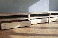steigerhouten meubel tv - Google zoeken