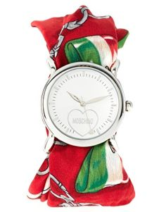 Shop Women's Moschino Watches on Lyst. Track over 16 Moschino Watches for stock and sale updates. Watch Companies, Watch Brands, Jewelry Box, Jewelry Watches, Jewellery, Little Bit Of Love, Red Scarves, Sport Watches, Moschino